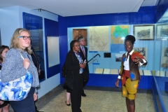 South Africa Judges visit at the Judiciary Museum of Kenya.