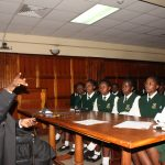 Alliance Girls High School students tour Judiciary