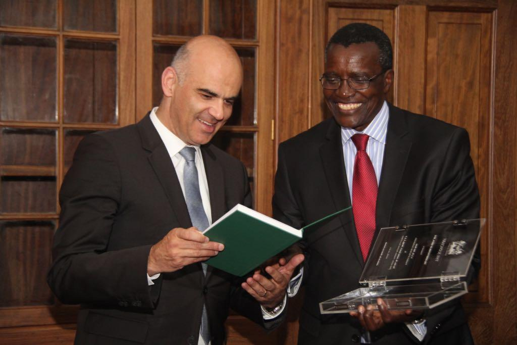 President of the Swiss Confederation visits Judiciary