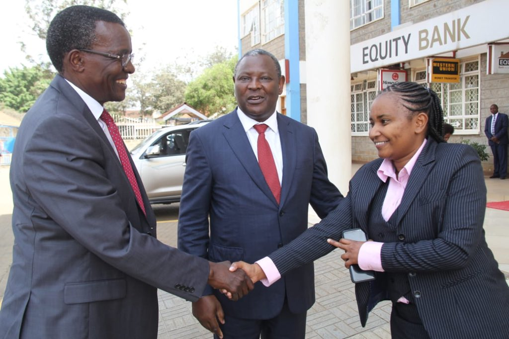 CJ Maraga addresses Equity Bank Wings to Fly scholars