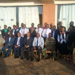 Labour court team at Kitale Law Courts