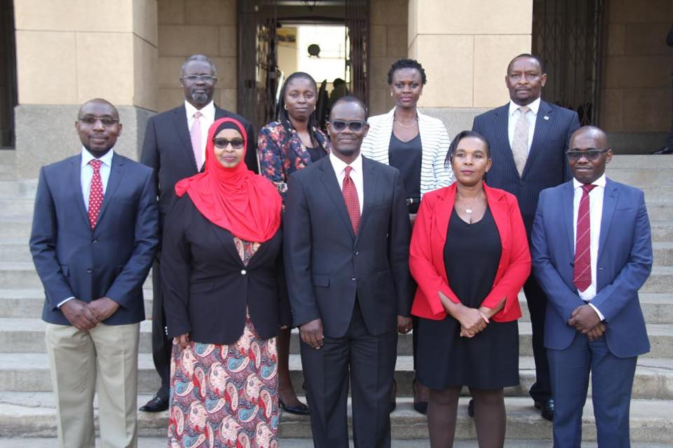 Members of two tribunals  take Oath of Office