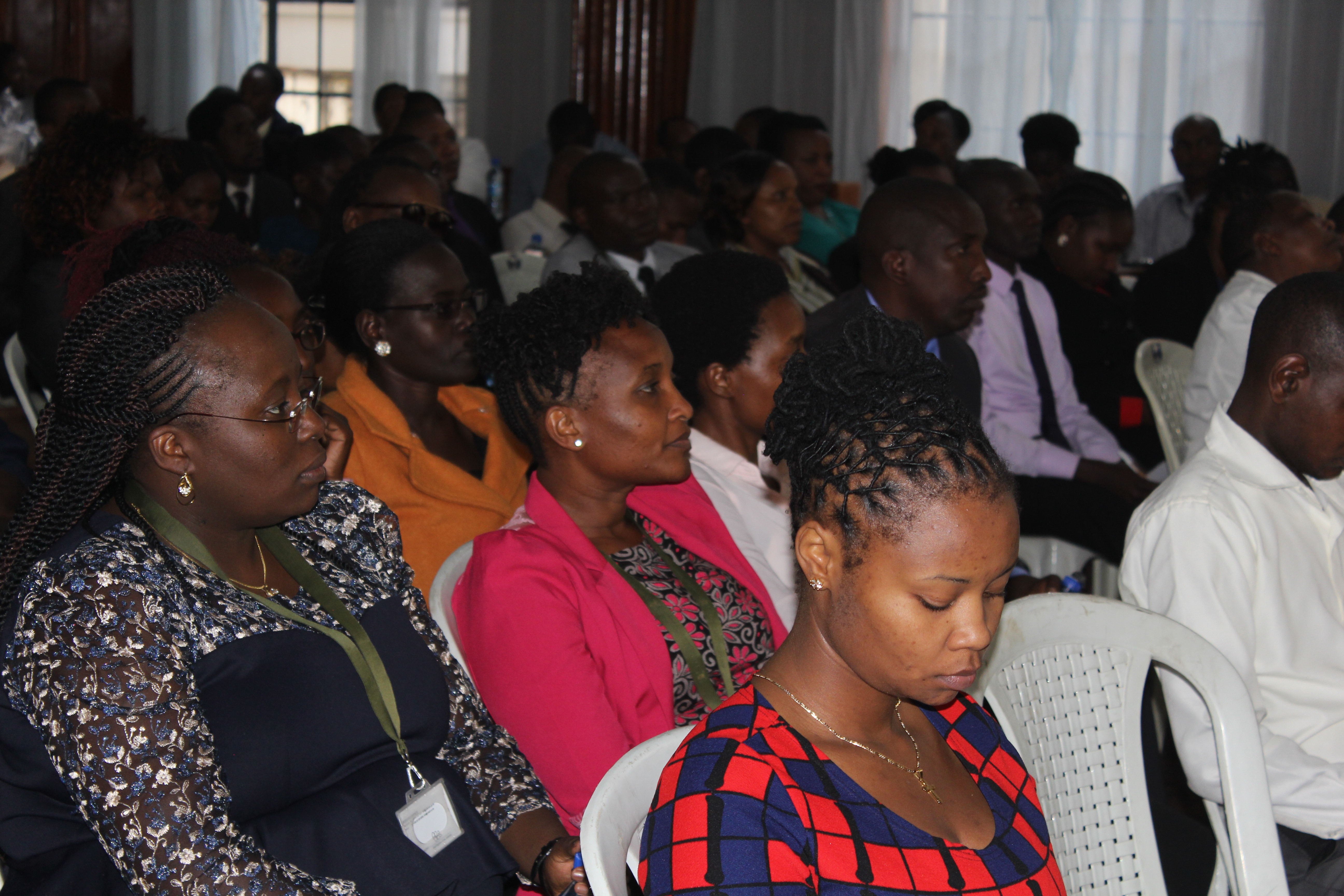 Milimani law court staff sensitised by EACC officials