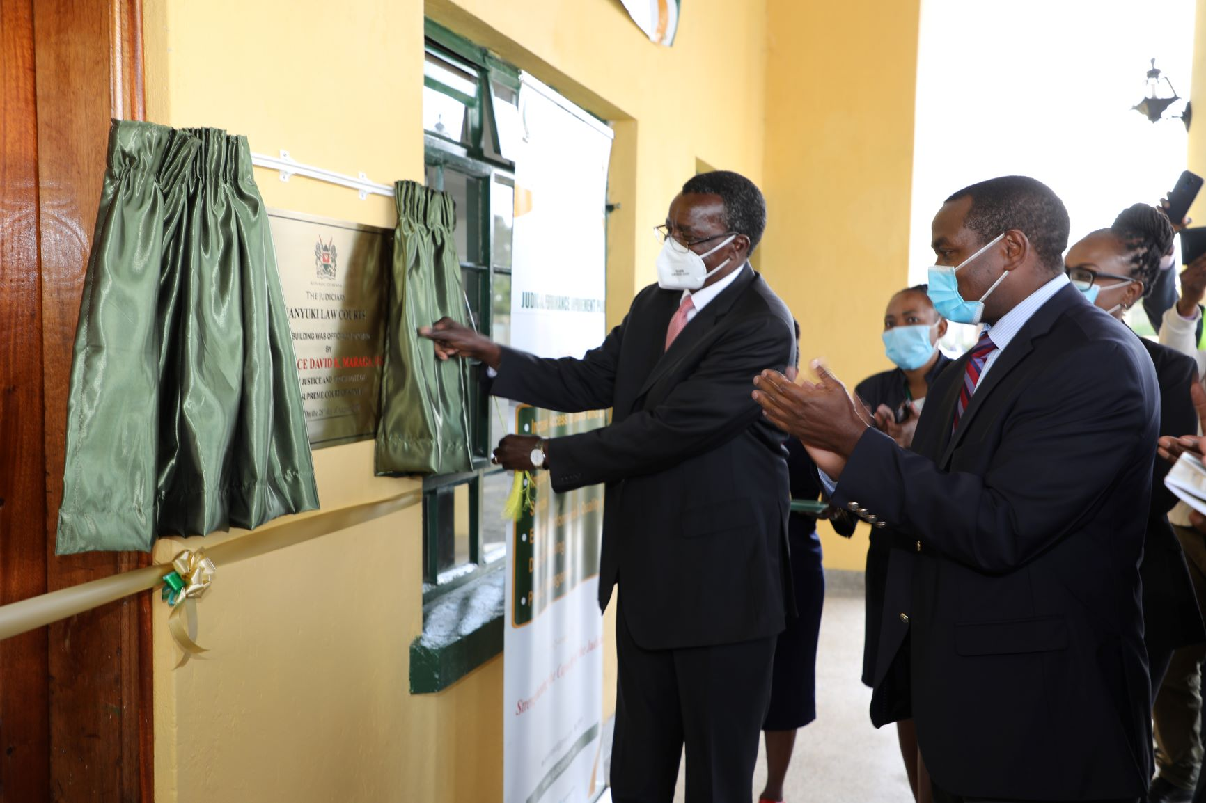 CJ officially opens Nanyuki Law Courts buiding