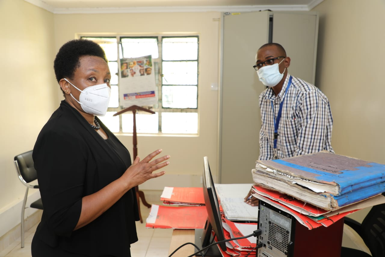 Ag. CJ Philomena Mwilu inspects service delivery at Kisii, Oyugis and Nyando Courts