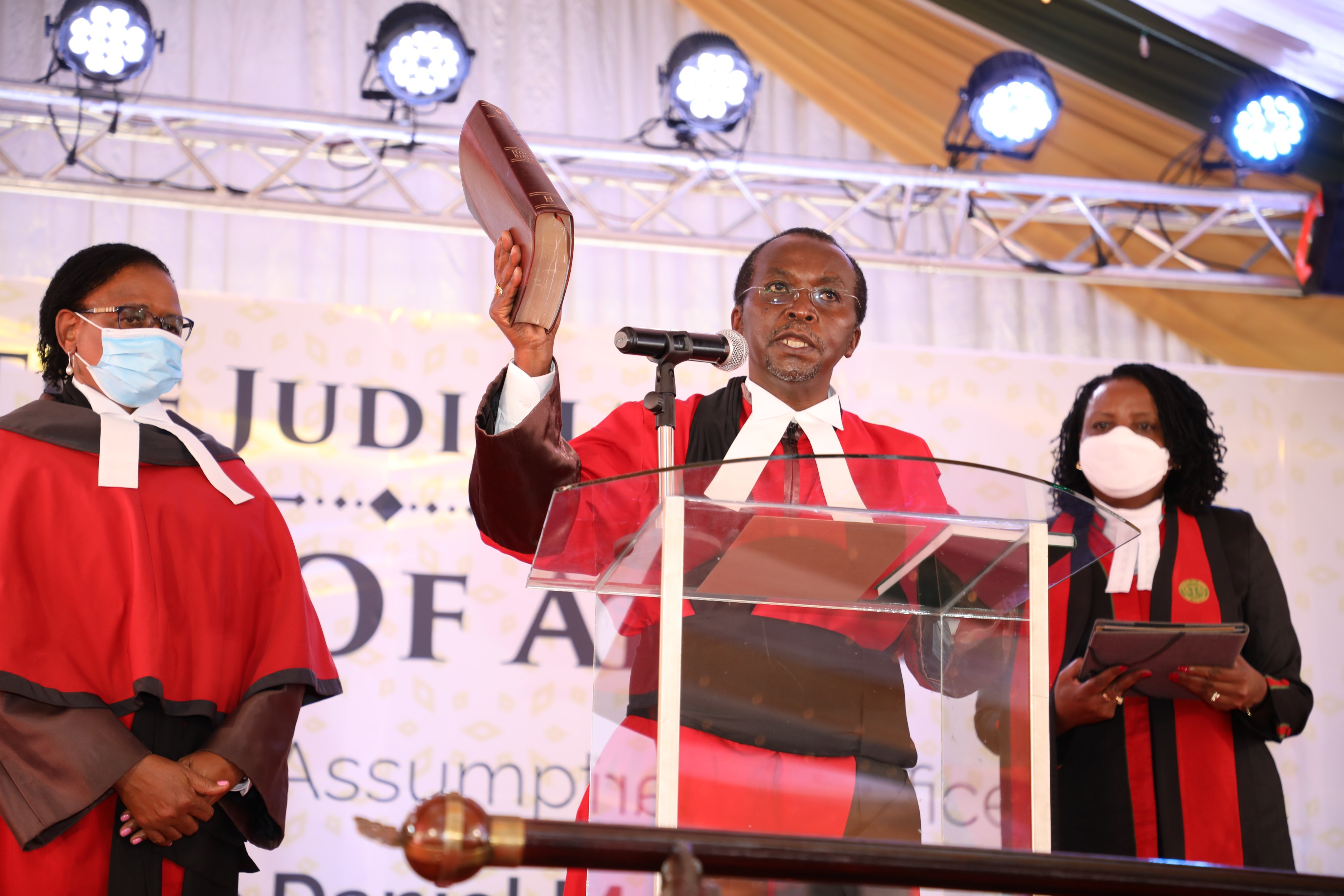 Justice Musinga Officially assumes Office as the Court of Appeal President