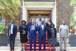 Eldoret Court and County Government leadership meet to discuss issues affecting access to Justice